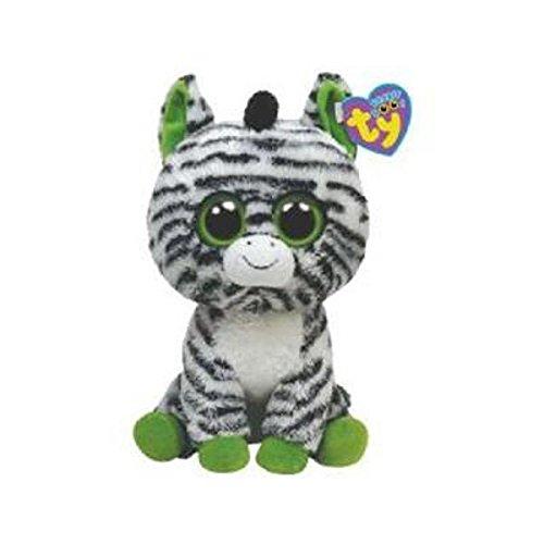 """Beanie Boo Zebra - Zig-Zag - 15cm 6"""""""