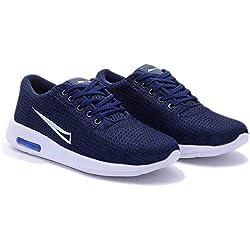Softdeal International Men's Sports Shoes/Running Shoes (6, Blue)