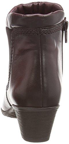 Gabor Sound, Stivaletti alla caviglia, imbottitura pesante donna Rosso (Red (Dark Red Leather))