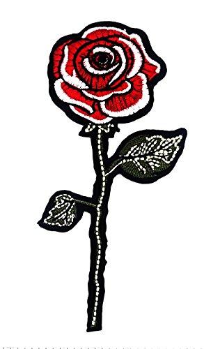 rabana rot Rose Valentine Day Lover Pailletten Glanz glänzend Cartoon Kids Kinder Cute Animal Patch für Heimwerker-Applikation Eisen auf Patch T Shirt Patch Sew Iron on gesticktes Badge Schild - Kostüm Kinder Valentine
