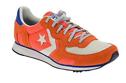 Converse - Converse Auckland Racer Distressed Ox Sneaker Damm Orange - Orange, 44 (Distressed Canvas Schuhe)