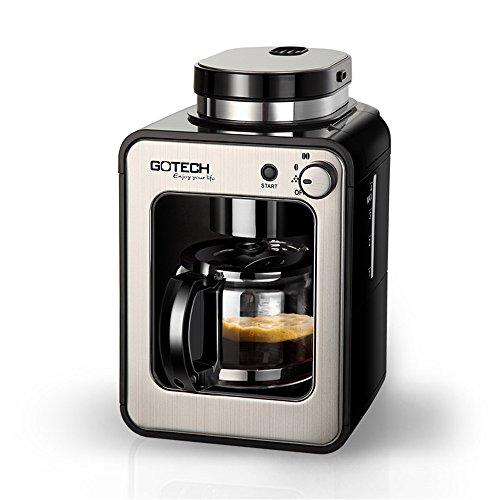 HOME UK- CM6686A amerikanischen Tropf Kaffeevollautomat Frisch gemahlener Kaffeekanne Bean Powder...