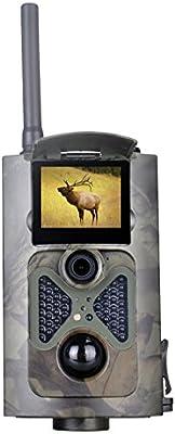 1080P 12 MP Trail de caza Cámara de vídeo cámara DVR mms Alarma Scouting grabado en tarjeta SD