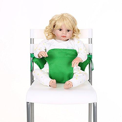Decdeal Tragbar Baby Stuhl-Sitzgurt Esszimmerstuhl Sicherheitsgurt für Babys Kleinkind