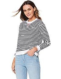 1940b9ec Tommy Hilfiger Kellie C-NK Sweatshirt Ls, T-Shirt À Manches Longues Femme