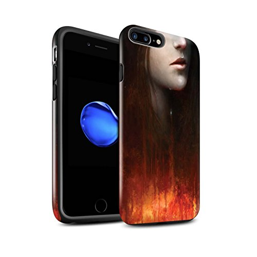 Offiziell Chris Cold Hülle / Glanz Harten Stoßfest Case für Apple iPhone 7 Plus / Pack 8pcs Muster / Gefallene Erde Kollektion Tränen der Eva