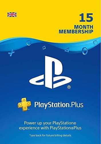PlayStation Plus 15 Month Membership | PSN Download Code - UK account