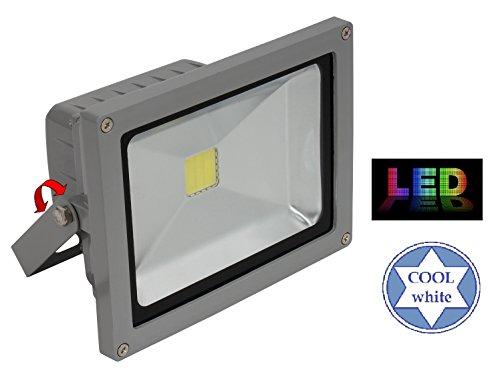 Trango 20W IP65 COB LED Scheinwerfer - 6000K kaltweiß aus Alu-Druckguss Flutlicht Strahler Fluter