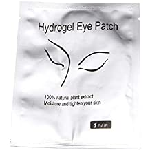 Junlinto 1 par de Lote Beauty Eyelash Pad Gel Parche sin Pelusa Lash Extension Eye Mask