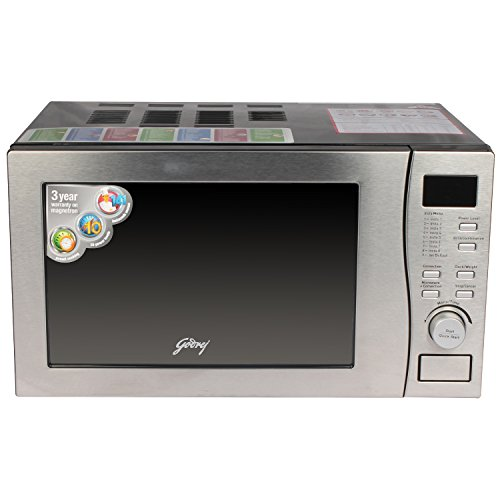 Godrej GMX20CA5MLZ 20-Litre 2200-Watt Convection Microwave Oven (Clear)