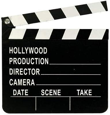Administration Clap Hollywood Fête Décoration Clap Board Film Films Accessoire