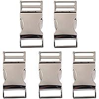 3c36e2e6d3682f Generic 5X Rilascio Laterale Fibbie Buttoni in Metallo per Marsupi Borsa  Cucire Fibbia -  1