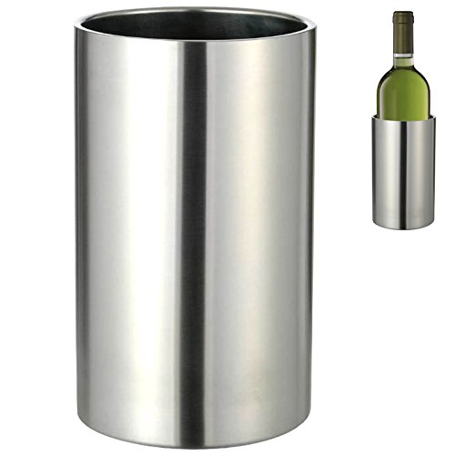 Edelstahl Weinkühler doppelwandig 34041
