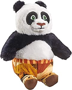 Schmidt Spiele 42717 DreamWorks Kung Fu Panda - Peluche de Po (tamaño pequeño, 18 cm), Multicolor
