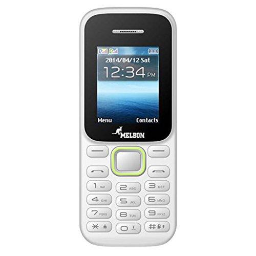 Melbon DUDE-88 Mobile Phone (Dual Sim, White)