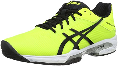 Asics Gel-Solution Speed 3, Chaussures de Tennis Homme Giallo (Safety Yellow/Black/White)