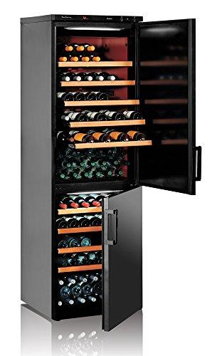 Ip Industrie - Cantina climatizzata con due porte cieche e con due zone autonome e capienza totale 134 bottiglie