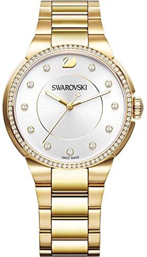 Swarovski city-braccialetto in oro giallo con tonalità 5213729-orologio da donna