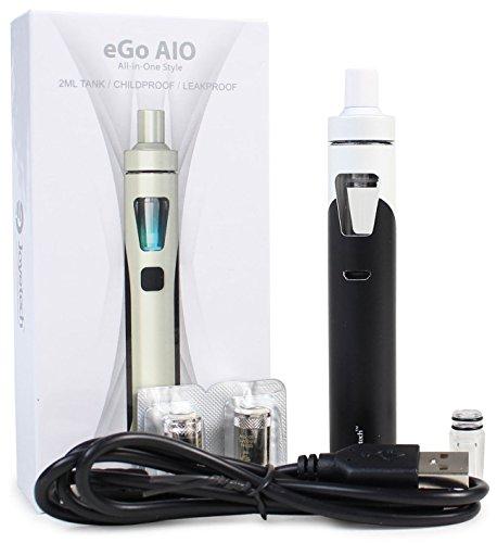 e-Zigarette Set Joyetech eGo AIO Nikotinfrei Farbe Weiß