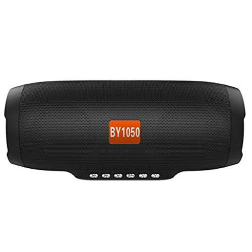 Laile Bluetooth-Lautsprecher Mini drahtloser Player Musik-Soundspalte bietet einen leistungsstarken Sound und robuste Bässe durch einen modernen 5W x 2-Treiber und einen passiven Subwoofer