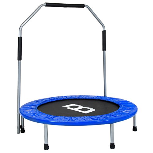 charles-bentley-40-inch-blue-mini-fitness-trampoline-rebounder-with-detachable-stability-bar-cardio-