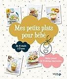 Mes petits plats pour bébé