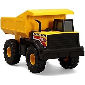 Tonka camion bennecamion benne 90667 jaune jeux et jouets - Camion benne tonka ...