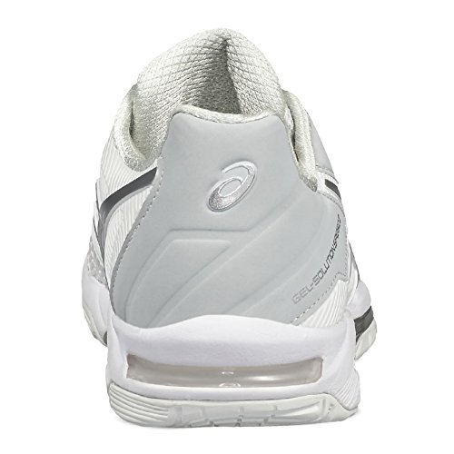 Asics Gel-Solution Speed 3, Chaussures de Tennis Femme Blanc Cassé (White/silver)
