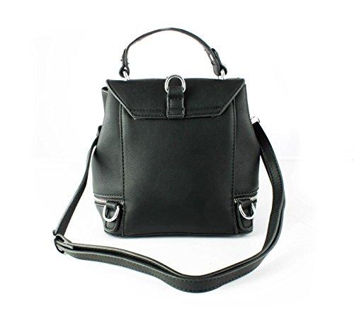 FoxLady ,  Damen Rucksackhandtaschen Schwarz