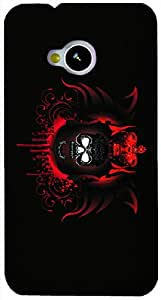 Timpax protective Armor Hard Bumper Back Case Cover. Multicolor printed on 3 Dimensional case with latest & finest graphic design art. Compatible with HTC M7 Design No : TDZ-26813