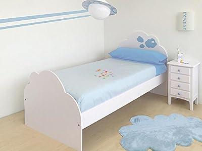 Cama infantil Nube 105 x 190 cm