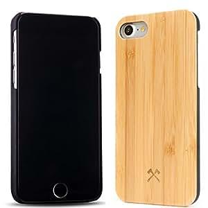 Woodcessories EcoCase Camille - iPhone 7, Hülle, Cover, Case aus echtem Holz (FSC-zertifiziert - Bambus)