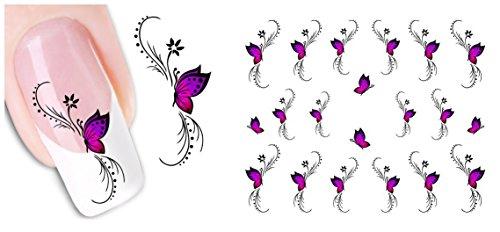 nicedeco-trasferelli-e-autoaderenti-adesivi-decorazioni-per-unghie-diy-nail-arte-farfalla-porpora