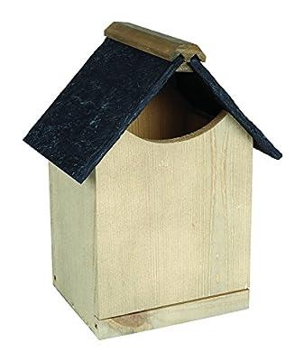 Gardman Norfolk Robin Nest Box Garden Patio Outdoors 28mm & 32mm Holes Open Front from Gardman