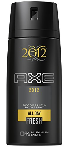 AXE Deospray 2012 Final Edition ohne Aluminium 150 ml, 3er Pack (3 x 150 ml)