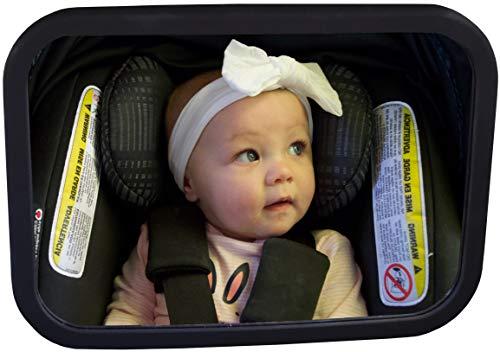 Baby Watch Specchietto per Auto (Senza Luce)   Specchietto per Il Sedile Posteriore   Shatter-Proof, Completamente assemblato