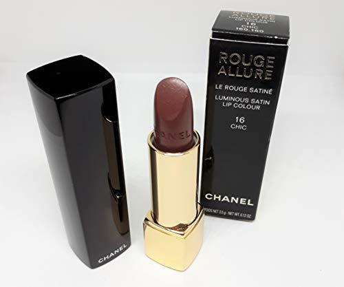 CHANEL Rouge allure lumino ci satin lip Colour-3.5g, No. 16chic