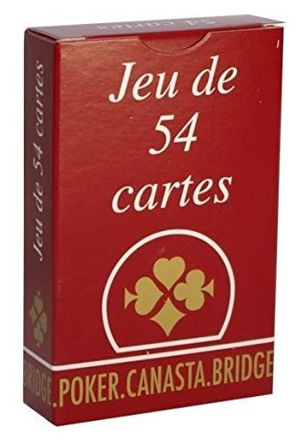 France Cartes - 400506 - Jeu de cartes - Jeu 54 Cartes