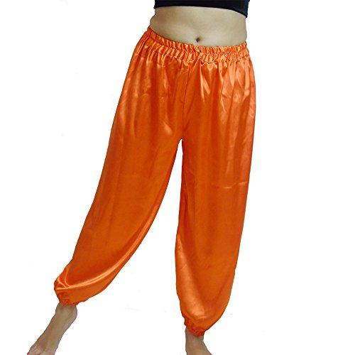 n für Dancing Tribal Dancer Kostüm Yoga Neu M L XL XXL, Orange (Jedes Halloween Kostüm Der Welt)