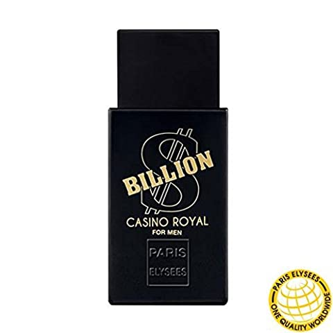 SOLDES Billion Dollar Casino Royal Parfum 100ml Homme Eau de toilette Paris Elysees