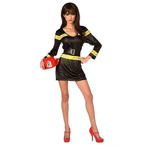 Firewoman Kostüm - Morph Damen Kostüm, Firewoman, Large