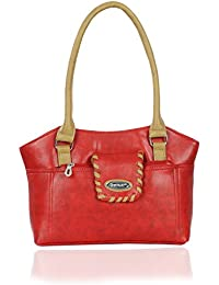 Right Choice Dignified ,sophisticated Orange Colour Women's Handbags With The Dimensions Of(28x23x10cm).