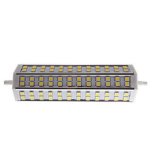 200w Halogen-flutlicht (omto T3R7s J78/J118/J135/J189LED Leuchtmittel Doppelendige J Typ 100W/200W Halogen R7s 5050LED Flutlicht Ersatz Lampe, Warmwhite 3000k, J189, R7s)