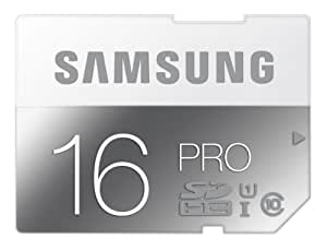 Samsung 16GB PRO Class 10 SDHC up to 90MB/s (MB-SG16D/AM)