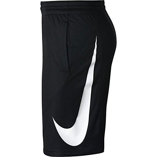 Uomo Blackwhite Nike 910704 Shorts L 010 PtSxSf