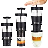 Tradico® Portable Capsule Espresso Coffee Machine Tripresso Hand Press Mini Coffee Maker Fit