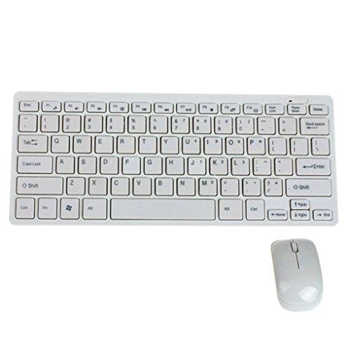 Ultra-dünne kabellose Mini Tastatur und Maus Box Set für ausgewählte Samsung Smart TV