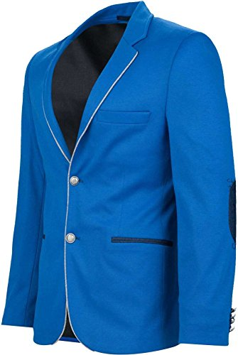 YAKE by S.O.H.O. NEW YORK Herren Sakko CANNES Blau