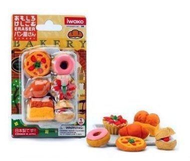 Iwako Japanese Eraser Set - Japanese Baked Goods, beanie, school, scissors, japanese, toys, store by KIDS-OUTLET