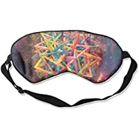 Colorful Polygon Patterns Sleep Eyes Masks - Comfortable Sleeping Mask Eye Cover For Travelling Night Noon Nap... preisvergleich bei billige-tabletten.eu